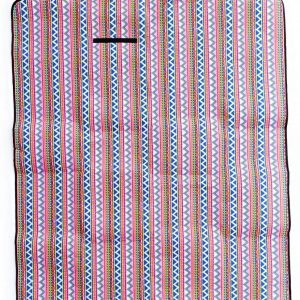 Canvas Picnic and Beach Outdoor Mat 5 Feet By 6 Feet