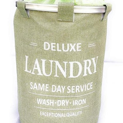 Sabmall Green Laundry bag
